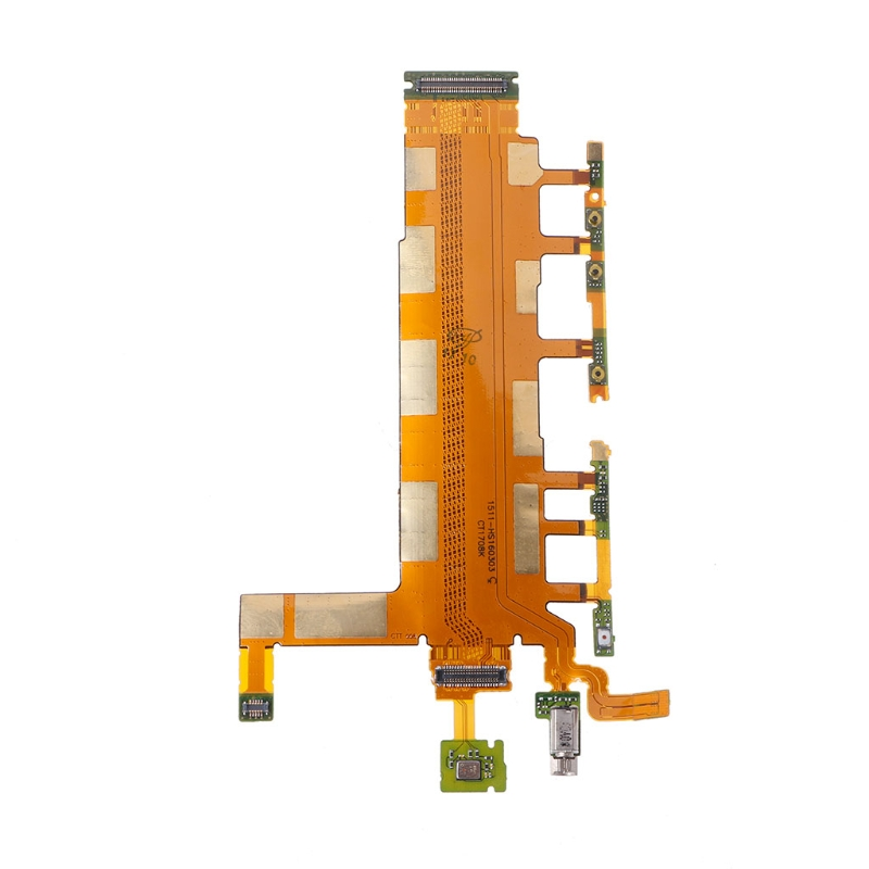Power Switch Microphone Flex Cable Mobile Phone Parts For Sony Xperia Z3 Dual D6633 LX9A
