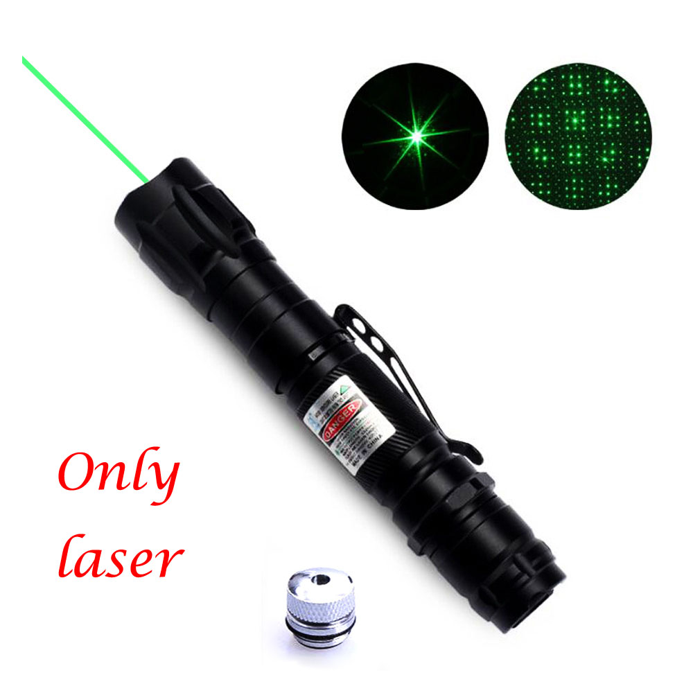 532nm 5mW Green Red blue Laser Pointer 009 Sight Series Powerful Flashlight device Adjustable Focus Lazer lasers pen NO Battery