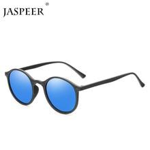 JASPEER Round Polarized Sunglasses Retro Men Eyeglasses Brand Design Women Shades Sun Glasses UV400 Eyewear Oculos De Sol цены