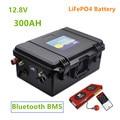 12 В LiFePO4 300ah Батарея Встроенная BMS с Bluetooth BMS lifepo4 12,8 В 300AH Аккумулятор для инвертора, Солнечный MPPT