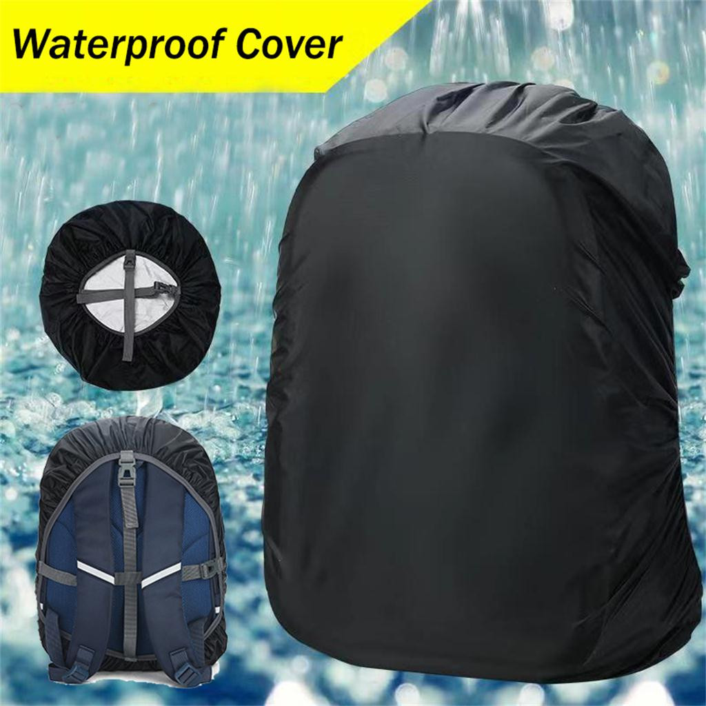 Waterproof Adjustable Dustproof Backpack Rain Cover Backpack Cover Rain Cover Reinforced for Outdoor tools Hiking Activities
