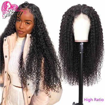 BeautyForever Malaysian Curly Hair 13*4/6 Lace Front Wigs 100% Remy Human Hair High Ratio 360 Lace Front Wigs 150%/180% Density - DISCOUNT ITEM  40% OFF All Category
