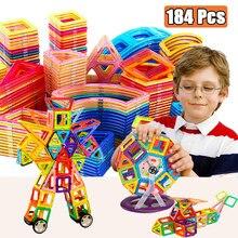 Mini boy manyetik tasarımcı inşaat seti modeli ve bina oyuncak mıknatıslar manyetik bloklar eğitici oyuncaklar çocuklar için