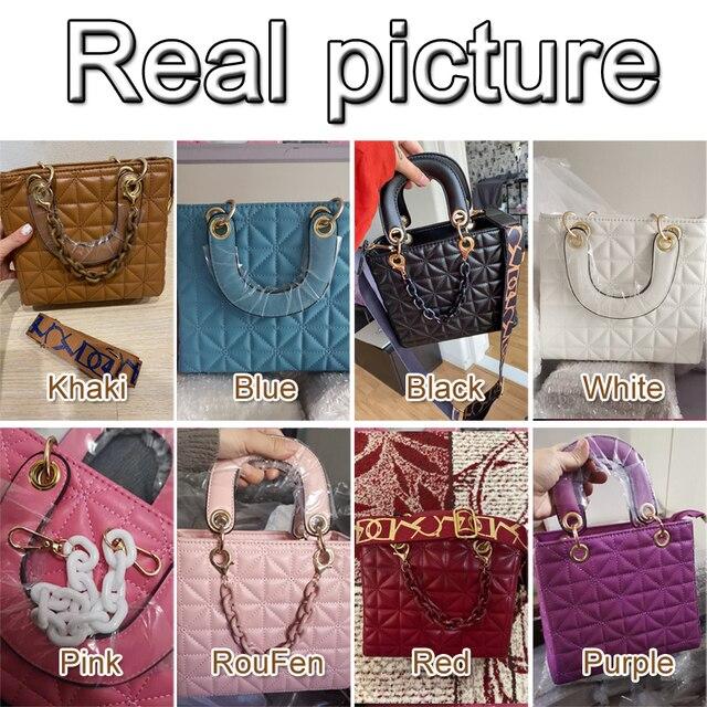 Flap Crossbody Bag For Women 2021 Fashion Designer Women Shoulder Bag Handbag Purse Women Messenger Bags Vintage Pu Ladies 6