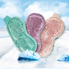 2021 Gel Eye Mask Adjustable Strap for Hot Cold Therapy Soothing Relaxing Beauty Gel Eye Mask Sleeping Ice Goggles Sleeping Mask