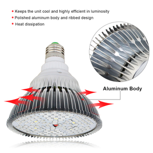 Image 3 - LED Grow Light Full Spectrum 10W 30W 50W 80W E27 LED Phyto Lamp Fitolampy Bulb 28 40 78 120LEDs Plant Lamp For Flowers Seedings