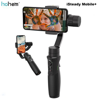 Hohem iSteady Mobile+ Plus Smartphone Gimbal Stabilizer 3 Axis Handheld Gimbal for iPhone Andriod Huawei Samsung Gopro