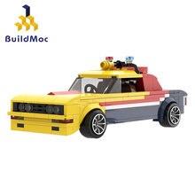Modifiye kamyon Mad-Max MFP Technicle serisi savaş kulesi olabilir film koleksiyonu modeli yapı taşları setleri Set tuğla oyuncaklar