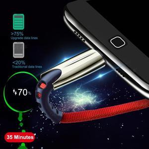 Кабель из цинкового сплава для передачи данных типа c тканевый usb подходит для быстрой зарядки type C для Samsung S8910 Note89 Huawei baseus