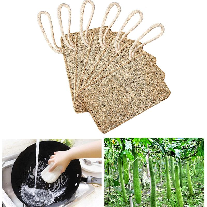 9Pcs Lovely Sponge Cloth Eco-Friendly Clean Dishcloth 100/% Natural Biodegradable