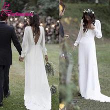 Простые Свадебные платья 2020 богемные свадебные в стиле кантри
