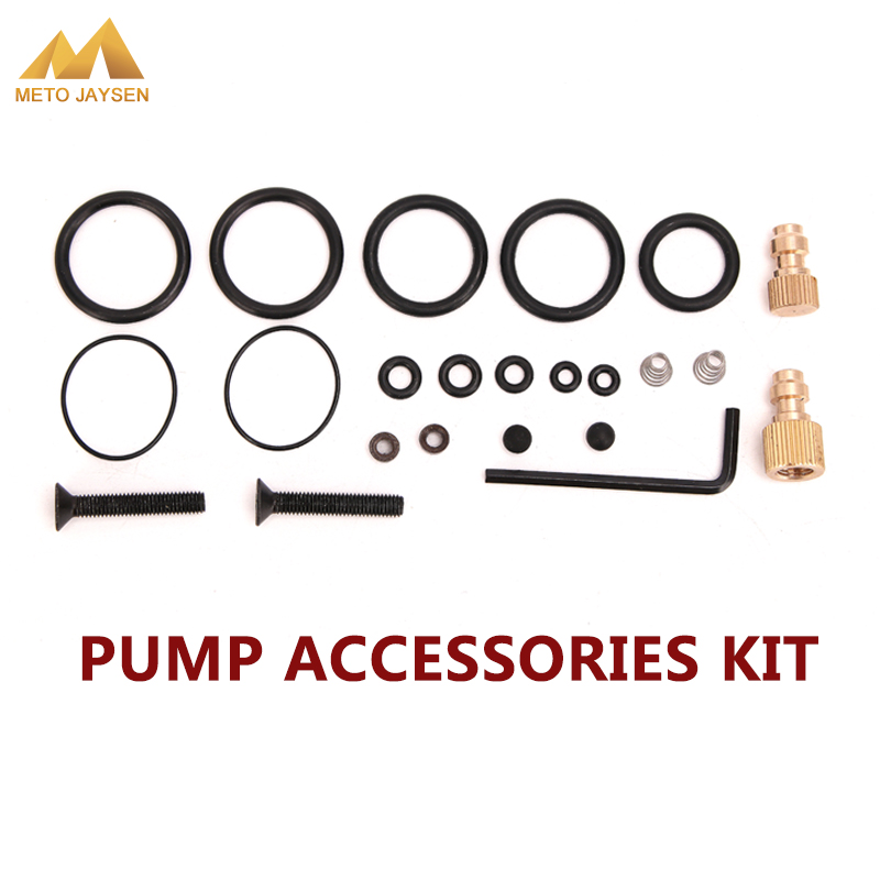 PCP Pump Sealing O-rings High Pressure Air Pump Accessories Spare Kits NBR Copper 40mpa 400bar 6000psi Replacement Kit 23PCS/SET