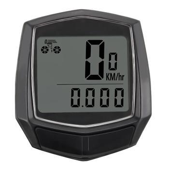 Bike Wired Stopwatch Bicycle Computer Multifunction Speedometer Odometer Sensor Outdoor Sport Accessories Black