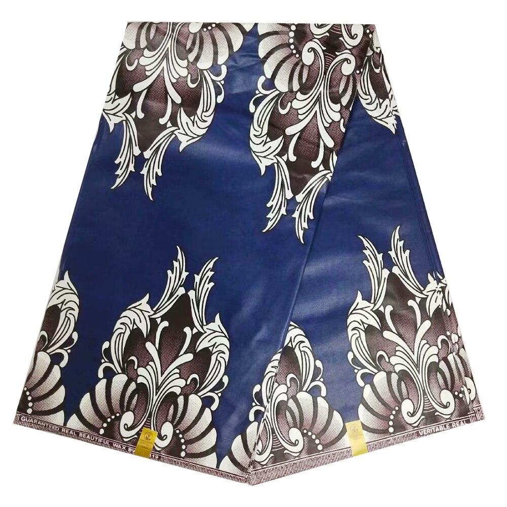2019 High Quality Cotton African Super Java Wax Fabrics Veritable Holland Print Ghana Ankara African Dutch Wax Pange Cloth