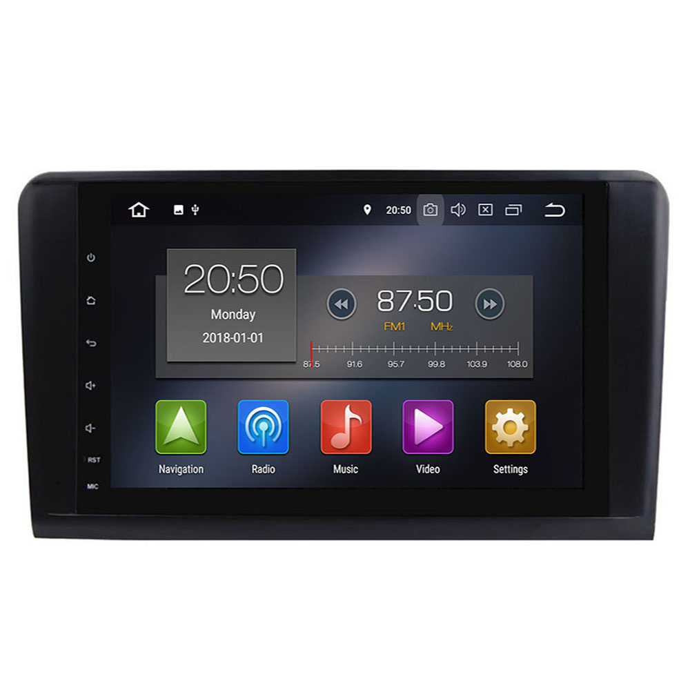 2din Car Radio gps Android 10 NO-DVD Multimedia Player for Mercedes Benz ML W164 ML300 GL X164 GL320 350 420 450 500 R W251280 image