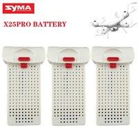 1/2/3 Uds batería Original para SYMA X25PRO 7,4 V 1000mAh RC Drones con batería de Lipo de recambios de cuadrirrotor RC accesorios para x25 PRO
