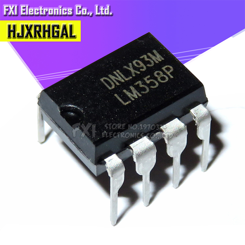 10Pcs Dip LM358P LM358N LM358 8Pin Operational Amplifier New Ic ne