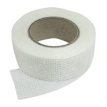 Самоклеящаяся белая сетчатая лента из стекловолокна для трещин