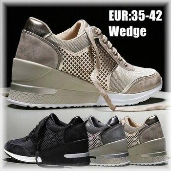 2020 Design esclusivo di Modo Delle Donne Aumentando Scarpe Unico Aumentato Suola Scarpe per Le Donne 1