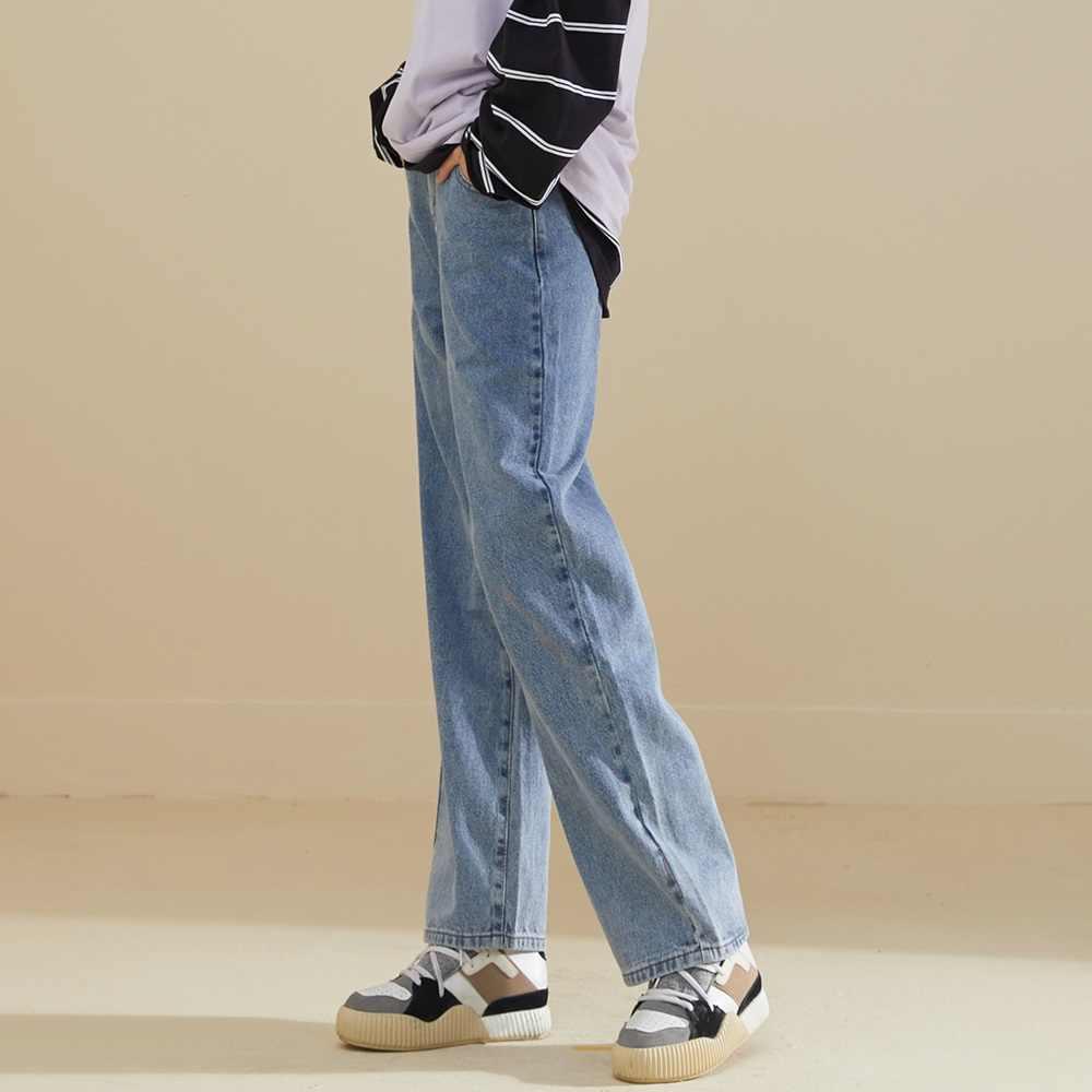 Metersbonwe 느슨한 청바지 여성 와이드 레그 청바지 2020 봄 새로운 세련된 데님 바지 고품질 Streetwear 캐주얼 루즈 청바지