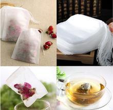 20000 יח\חבילה שקיות תה 5.5*7cm לא ארוג בד תה תיק, decocting רפואה מרק שקית מסנן תיק ריק תה שקיות