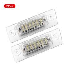 2 stücke Auto LED Kennzeichen Licht Arbeits Lampe LED Auto Lizenz Platte Licht Ersatz Auto licht für MK5 T5 passat 3C Caddy