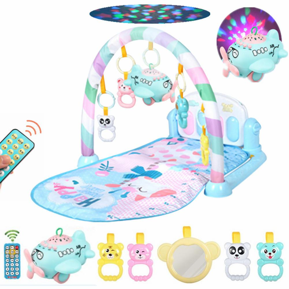 Kidlove Musical Baby Play Mat + Remote Control Projection Story Machine Educational Puzzle Toy