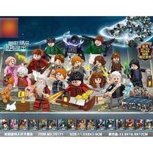 2019 new 16pcs legoinglys H Magic potter Magician Block Bricks Christmas Gifts