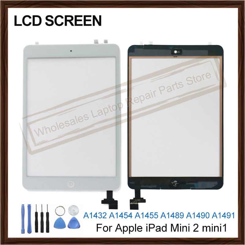 New For Apple <font><b>iPad</b></font> <font><b>Mini</b></font> <font><b>2</b></font> mini1 <font><b>lcd</b></font> display A1432 A1454 A1455 <font><b>A1489</b></font> A1490 A1491 <font><b>LCD</b></font> Touch Screen Digitizer IC Cable Sensor Glass image
