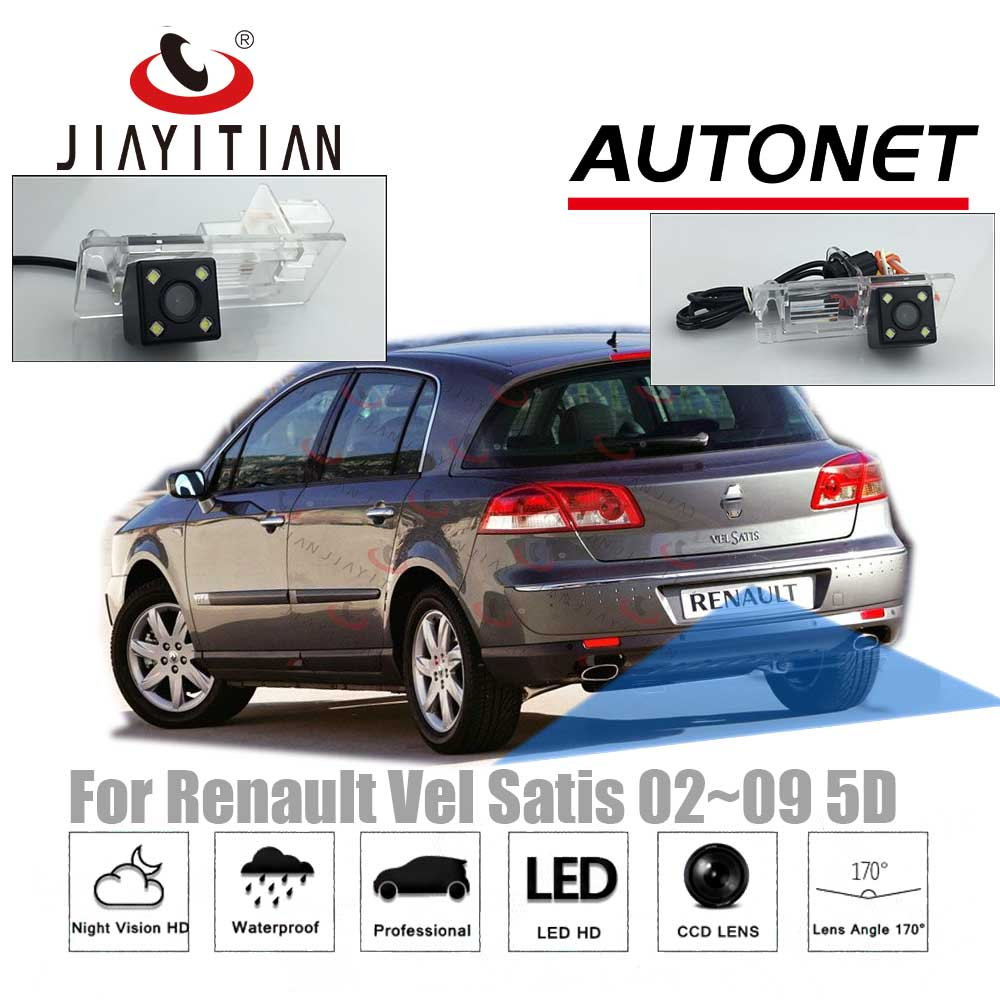 JIAYITIAN Rear View Camera For Renault Vel Satis 2002~2009 5D Hatch CCD Night Vision/License Plate Camera/Reverse Camera Backup