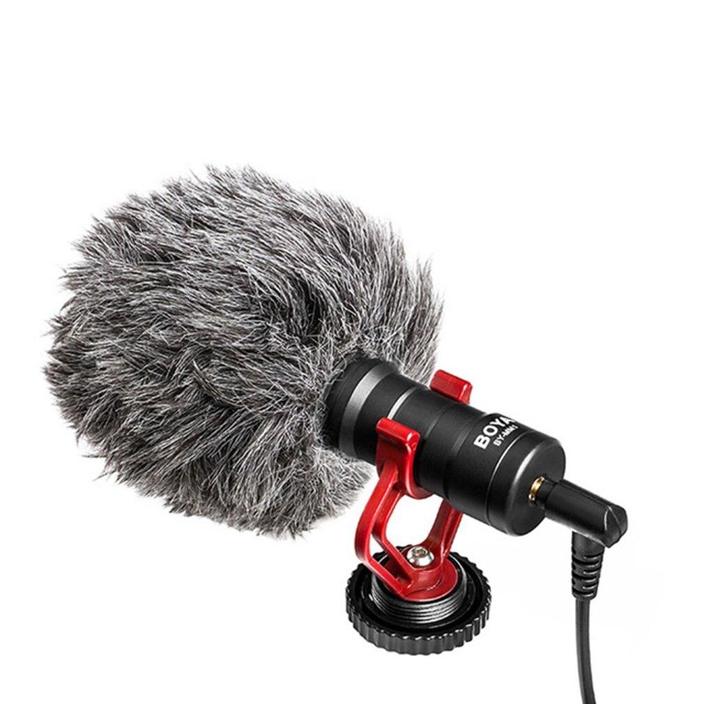 BOYA BY-M1DM петличный микрофон для iPhone цифровой зеркальной камеры Canon Nikon DSLR и формирующая листы для кровли 4 м всенаправленный пристегивающийся ...