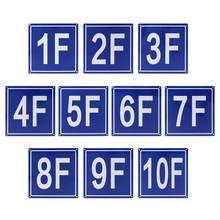 78 дюймовый напольный количество знаков Алюминий здания напольные