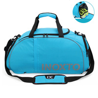 Waterproof Gym Bags Sports Fitness Double Shoulder Bag For Shoes Men Women Travel Training Tas Rucksack Outdoor Gymtas Sack