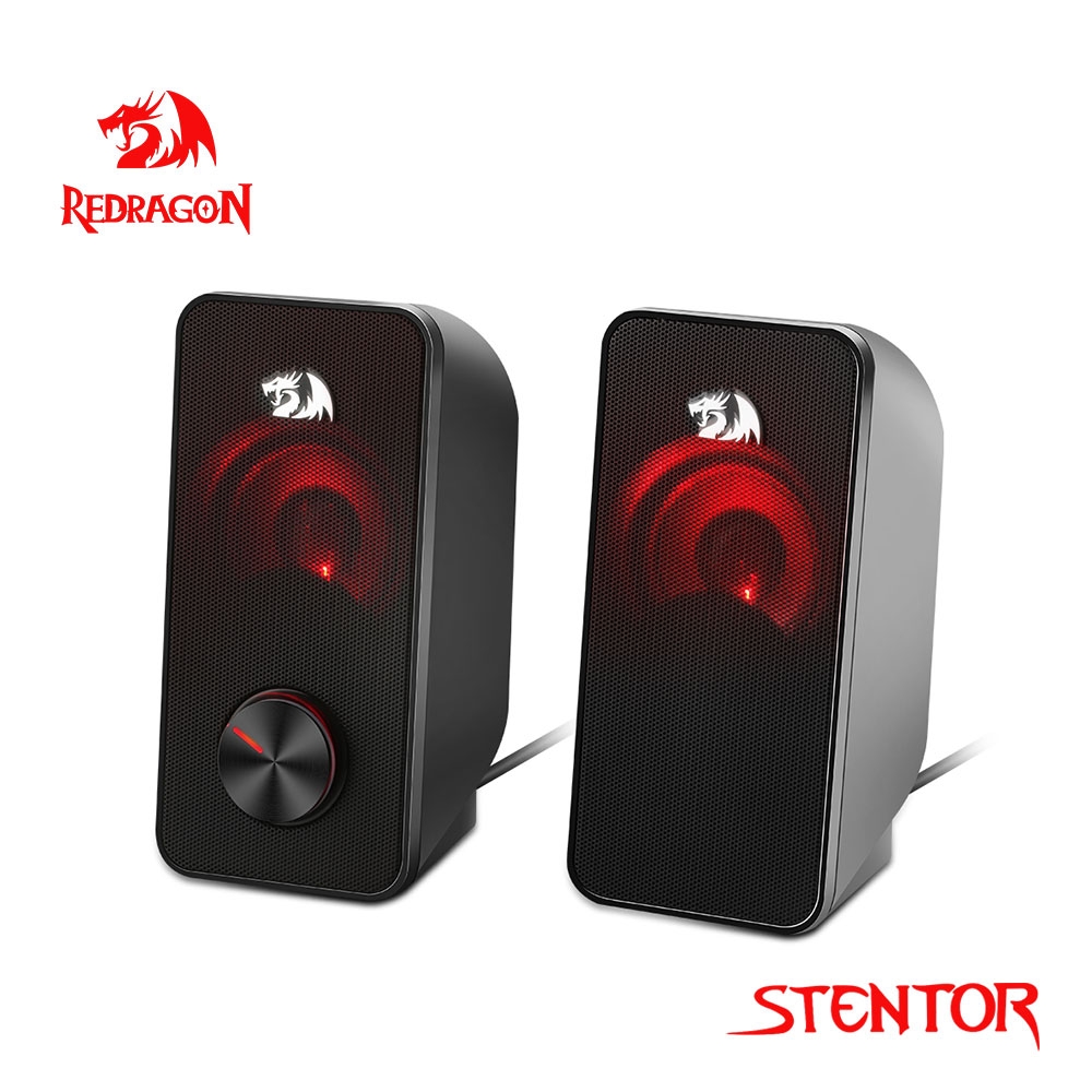 Redragon Stentor GS500 aux 3.5mm stereo surround music smart speakers column sound bar computer home PC notebook TV loudspeakers 1