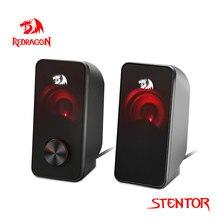Redragon Stentor GS500 aux 3.5mm przestrzenną muzyką stereo inteligentne głośniki kolumny sound bar komputer domu notebook PC TV głośniki