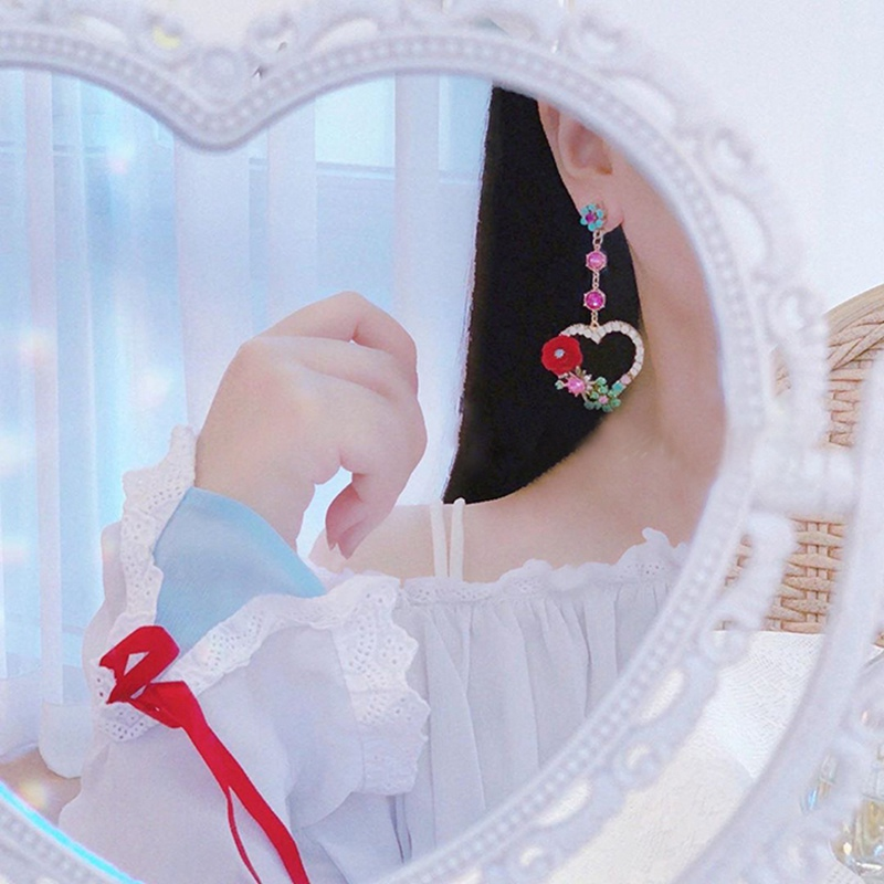 Женские винтажные серьги капельки mengjiqiao новые роскошные