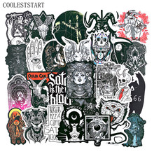 50Pcs/Set Devil Goth Style Cool Waterproof Stickers For Laptop Luggage Motorcycle Phone Skateboard Toys Car Diary Pegatinas(China)