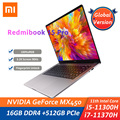 Xiaomi RedmiBook Pro 15 Laptop Intel Core i7-11370H / i5-11300H16GB + 512GB 3,2 K FHD 15,6 Zoll Notebook PC 90Hz Fingerprint Entsperren