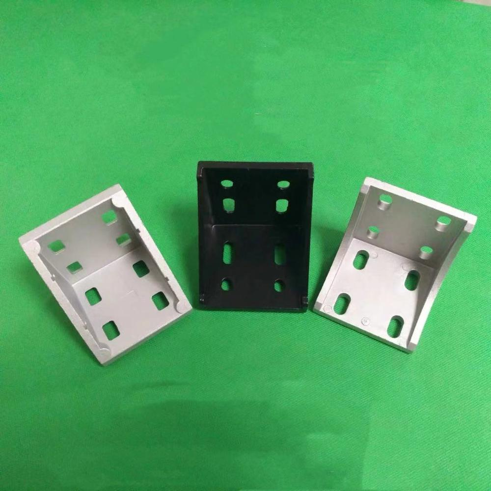 8080 угловой кронштейн фитинг угол L соединитель кронштейн крепеж для 8080 серии алюминиевый профиль