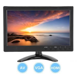 10.1 Inch Portable Monitor 16:9 HD Widescreen Display VGA/HDMI/BNC/AV/USB Interface for Raspberry Pi/Xbox 360/PS4/CCTV car video