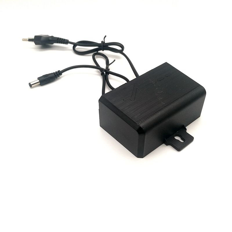 <font><b>12V</b></font> 2A 5.5x2.1mm / 5.5*<font><b>2.1mm</b></font> 5.5x2.5mm Outdoor Switch Power Supply Adapter EU US Plug for CCTV Camera Monitor image