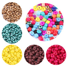 1000 pçs/lote Miyuki contas De Vidro Pequeno 2.5 3 4 milímetros pérola Que Bling Seedbeads Material Para Fazer Colar Pulseira Descobertas Jóias