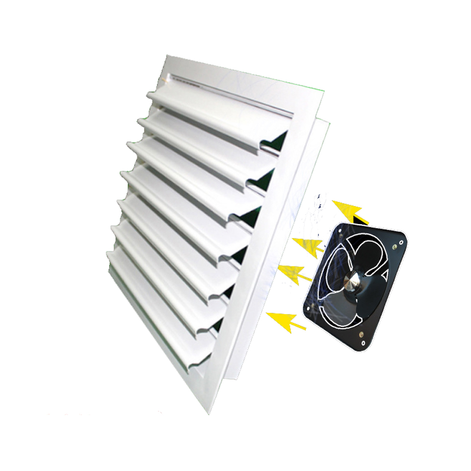 Central Air Conditioning Air Outlet Aluminum Alloy Louver Self-adjustable Adjustable Ventilation Louver Air Vent Grille  Duct