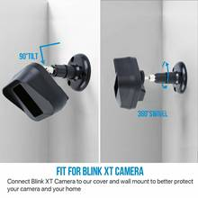 Honhill 360 ° Adjustable Security Bracket For The Blink XT / XT2 Camera Cover