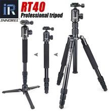 INNOREL RT40 Aluminium Alloy Camera Tripod Video Monopod Professional Travel Compact Tripod with Quick Release Plate & Ball Head