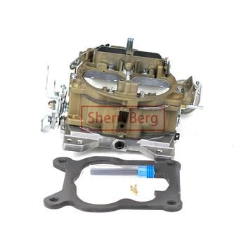 SherryBerg Carburador Carb Carburettor ROCHESTER QUADRAJET 4MV CARBURETOR FOR CHEVY1966 327 ENGI LIKE EDELBROCK 1901 4 Barrels