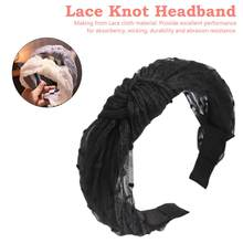 Shiny Crystal Headbands Hair Band Hoop Accessories Headwear Vintage Bohemian Lace Knot Women Wide Knotted Hairbands распашонка la redoute для новорожденных мес года 0 мес 50 см белый