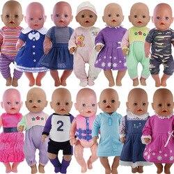 15 видов цветов Одежда для куклы подходит для 43 см для ухода за ребенком для мам Одежда для новорожденных кукла 17 дюймов куклы одежда, дети, лу...