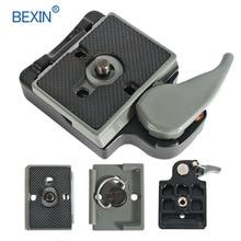BEXIN 200PL-14 323 быстроразъемный Зажим адаптер для штатива камеры с Manfrotto 200PL-14 Compat Plate BS88 HB88 стабилизатор пластины