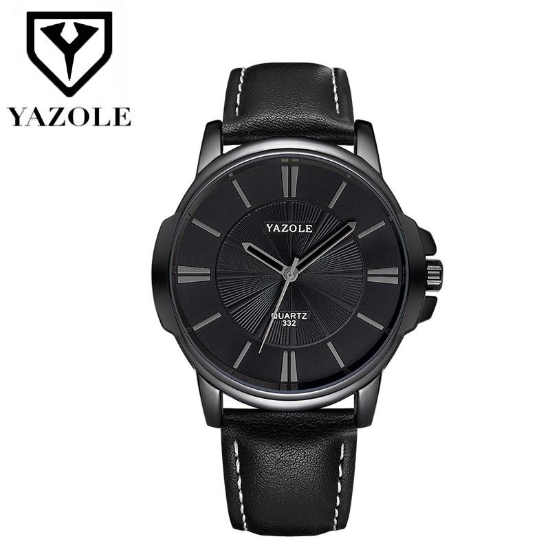YAZOLE Business Men's Wrist Watch Men Top Brand Luxury Famous Watches For Man Quartz Wristwatch Male Clock Relogio Masculino
